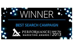 performance-marketing-awards-best-search-campaign-2013