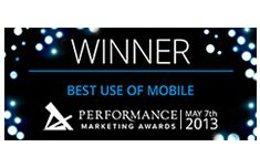 performance-marketing-awards-best-use-of-mobile-2013