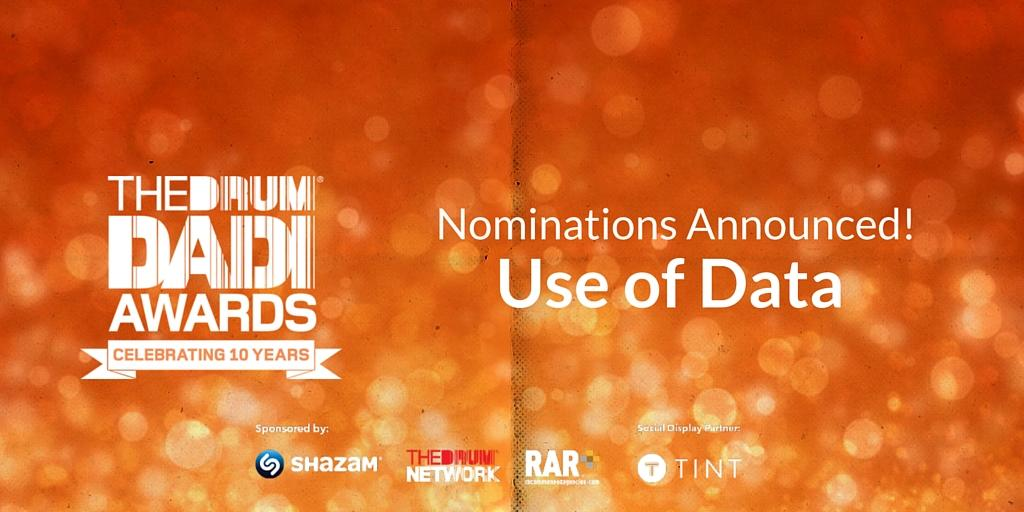 DADI's Use of Data 2016 Nomination