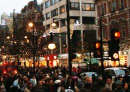 Oxford street Christmas sales