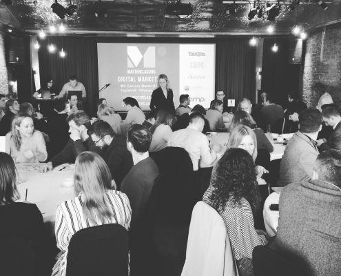 Digital Marketing Masterclass event